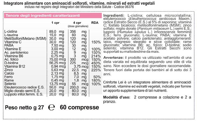 Minerali specifici  ferro (ferro gluconato) zinco (zinco solfato) rame  (rame gluconato) b6522c96fae5